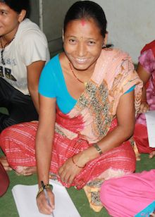 Growing up herding sheep, Hira Gharti Chhetri received no formal education and never learned how to read. Read more: http://readglobal.org/our-work/read-nepal/stories-of-empowerment/empowering-a-woman-to-sign-her-name