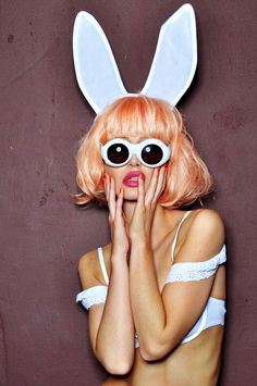 mod white rabbit