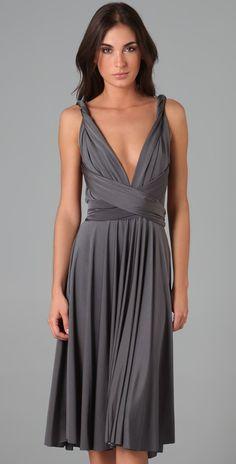 Twobirds Tea Length Convertible Dress   SHOPBOP