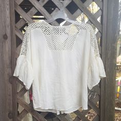 Brand New H&M Top Loose fitting H&M top with cutouts H&M Tops Tees - Short Sleeve