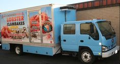 Sam's ChowderMobile fleet is growing with Sam's new Lobster Clambake truck! Van, Trucks, News, Party, Truck, Vans, Receptions, Parties, Cars