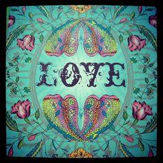 Love is all u need. I love my family