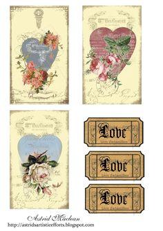 Astrid's Artistic Efforts: Friday Freebie Everybody Loves Roses