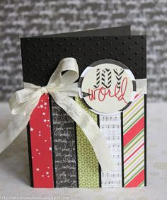 Christmas card using @Heidi Haugen Swapp Christmas collection Believe #heidiswapp http://ericarosecreates.blogspot.com