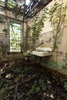 Abandoned asylum.