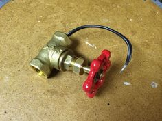 Picture of Water Valve Light Switch for a Pipe Lamp plus instructable of how to do it.
