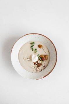 Festive Faffing Workshop at Rye London + Parnsip and Roasted Garlic Soup with Blistered Grapes and Almonds
