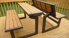 Image result for folding picnic table plans                                                                                                                                                                                 More