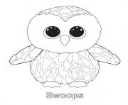beanie boo coloring pages owls - photo#5