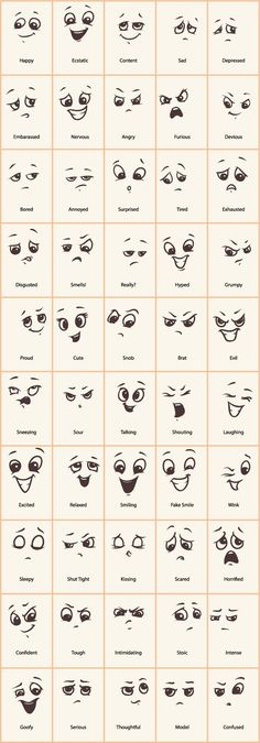 Decorative Rocks Ideas: Hand drawn funny expressions vector icons GooLoc … – - New Deko Sites Doodle Drawings, Cartoon Drawings, Easy Drawings, Doodle Art, Funny Drawings, Funny Sketches, Cartoon Art, Small Drawings, How To Doodle