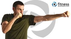Cardio Kickboxing + Abs: 51 Minutes, warm up & cool down included, no equipment at all, 100% free