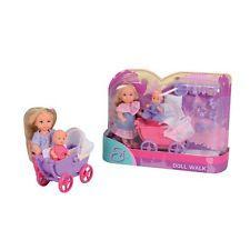 Simba Evi Love Doll Walk Puppe mit Baby viel Zubehör Puppenwagen Spielzeug
