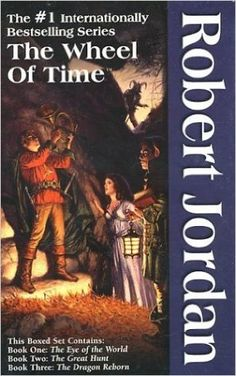 The Wheel of Time, Boxed Set I, Books 1-3: The Eye of the World, The Great Hunt, The Dragon Reborn: Robert Jordan: 9780812538366: Amazon.com: Books