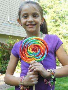 Rainbow Lolipop! #rainbow #CHARMIT