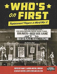 Who's on First: Replacement Players in World War II (The SABR Digital Library) (Volume 26) by Mark Z Aaron http://www.amazon.com/dp/193359991X/ref=cm_sw_r_pi_dp_4QQtvb10T773W
