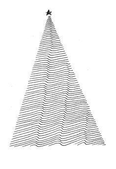 + | christmas card – graphic design in black and white - typography / graphic design: ulrike wathling ❥