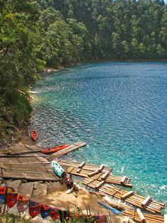 Lagunas de Montebello, or Montebello Lakes, http://www.gorditosenlucha.com/
