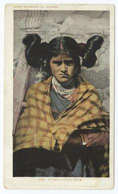 A Pueblo Indian Belle. (1903-1904)