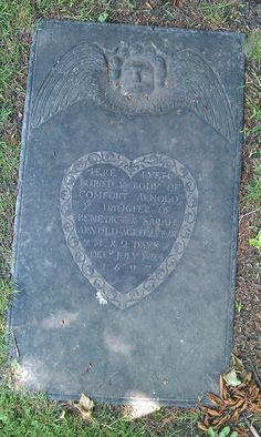 Grave marker - 1697 - Newport, RI
