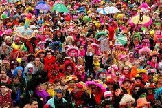 Le carnaval de Dunkerque.