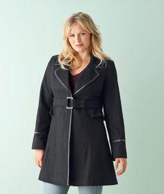 plus size winter fashion - Google Search