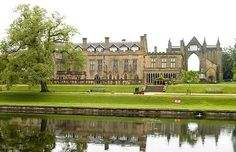 Newstead Abbey, Nottinghamshire - ancestral home of Lord Byron