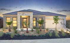 Santorini 2 Build Your Dream Home, Facade House, Investment Property, Facades, Home Builders, Santorini, Gazebo, House Plans, Goodies