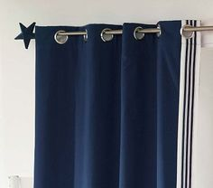 Shop canvas trim blackout panel from Pottery Barn Kids. Find expertly crafted kids and baby furniture, decor and accessories, including a variety of canvas trim blackout panel. Nursery Curtains, Kids Curtains, Cool Curtains, Panel Curtains, Stripe Curtains, Big Boy Bedrooms, Baby Boy Rooms, Baby Room, Blackout Panels