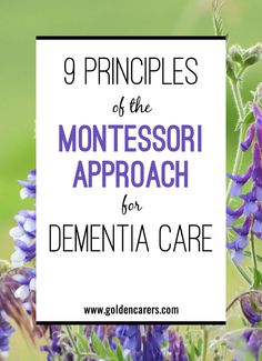 9 Principles of the Montessori Approach for Dementia Care: People living with dementia deserve to live to their full potential, with meaningful activities and the right support to achieve maximum engagement in social and leisure pursuits. Nursing Home Activities, Elderly Activities, Dementia Activities, Senior Activities, Brain Activities, Montessori Activities, Brain Games, Physical Activities, Advanced Dementia