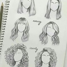 The Effective Pictures We Offer You About dessin croquis A quality picture can tell you many things. Girl Drawing Sketches, Cool Art Drawings, Pencil Art Drawings, Drawing Tips, Drawing Hair, Drawing Faces, Hair Sketch, Cartoon Art Styles, Art Reference Poses