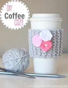 Coffee Cup Cozy Video Tutorial