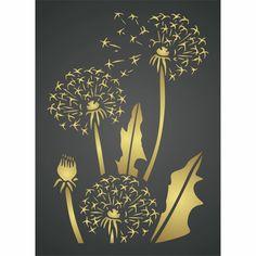 DandiClocks Layering Stencil Wallpaper Stencil, Holiday Crafts, Vinyl Decals, Layering, Stencils, Kitchen, Pattern, Decor, Cuisine