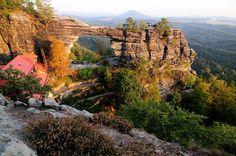 České švýcarsko panorama - Pravčidská brána Czech Republic, Grand Canyon, Nature, Travel, Naturaleza, Viajes, Destinations, Grand Canyon National Park, Traveling
