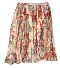 The Best Printed Skirt For Your Body Type- pear shaped
