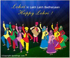 Dgreetings - Lohri Ki Lakh Lakh Badhaiyaan.