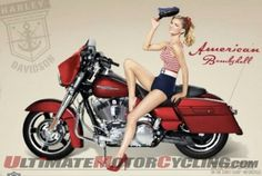 Supermodel Marisa Miller volunteered her beautiful self to Harley-Davidson's Military Appreciation Month and made some eye-popping pin-up style photos in the process. Vintage Harley Davidson, Harley Davidson Photos, Harley Davidson Motorcycles, Vintage Motorcycles, Marisa Miller, Pin Up Girls, Motos Harley, Harley Bikes, Toddler Girls