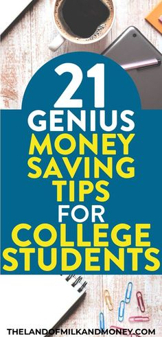 21 Simple Tips On How To Save Money As A Student At College – Finance tips, saving money, budgeting planner Saving Money Weekly, Money Saving Challenge, Money Saving Tips, Money Tips, Savings Challenge, Money Savers, Savings Planner, Budget Planner, Monthly Budget