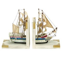 I pinned this 2 Piece Nautique Bookend Set from the Northern Nautical event at Joss and Main!