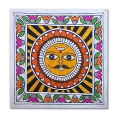 easy madhubani paintings for beginners - Google Search