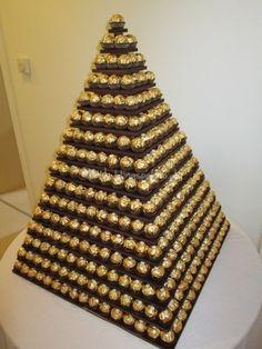 Alternative Wedding Cake - Ferrero Rocher Pyramid from Sweets for my Sweet | Photo 8