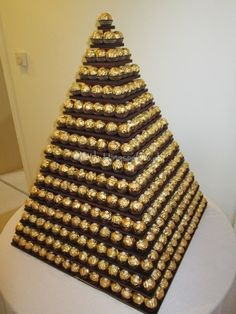 Alternative Wedding Cake - Ferrero Rocher Pyramid from Sweets for my Sweet | Photo 8