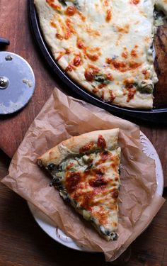 Spinach and Artichoke Pizza | Joanne Eats Well With Others