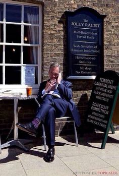 If you're not from the UK just Google the guy in the picture, Nigel Farage, and also UKIP to find out more. #beerhumour #beerfun