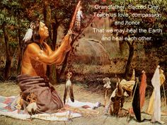 Native American Prayer-TheAltar in the temple which is the land.