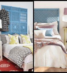 Cabeceros de Cama: Encuentra aquí + 50 Diy para hacer el tuyo propio My Room, Diy, Living Room, Macrame, Furniture, Home Decor, Rural House, Bed Headboards, Amor