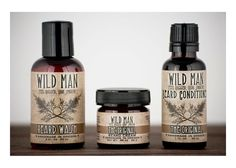 Wild Man Beard Gift Set  Feel Rugged, Look Smooth  Need a gift for a bearded man? Heres a collection of our most popular Wild Man products: Beard