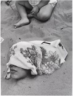 Harry Lapow (American, 1909–1982). 'Untitled (Buried Alive)' c. 1960s or 1970s