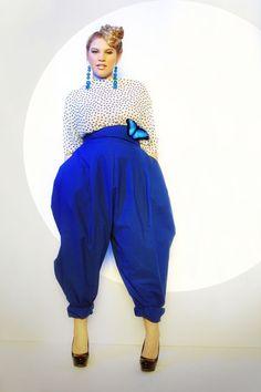 JIBRI Plus Size High Waist Slouch Pant von jibrionline auf Etsy, Curvy Fashion, Girl Fashion, Plus Fashion, Plus Size Girls, Plus Size Women, Plus Size Kleidung, Plus Size Designers, Plus Dresses, Plus Size Fashion For Women