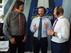 How are y'all liking @DaleJr in the @FS1 booth today? via @JRMotorsports