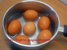 Αυγά βραστά - από «Τα φαγητά της γιαγιάς»